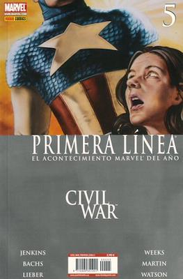 Civil War: Primera Línea (2007) (Rústica) #5