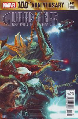 100th Anniversary Special: Guardians of the Galaxy (Variant Cover)