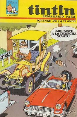 Tintin (Grapa 20 pags.) #49