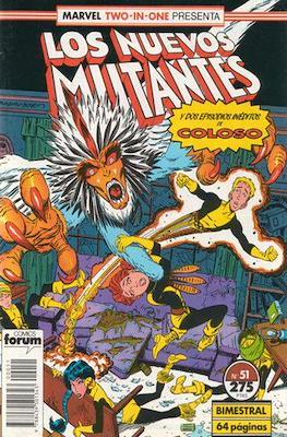 Los Nuevos Mutantes Vol. 1 (1986-1990) (Grapa 32-64 pp) #51