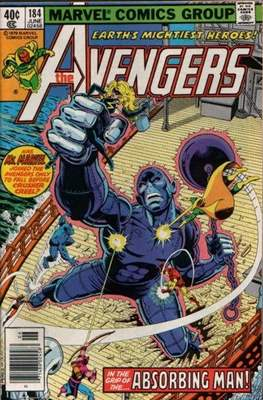 The Avengers Vol. 1 (1963-1996) (Grapa) #184