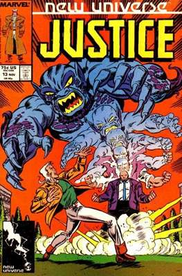 Justice. New Universe (1986) (Grapa.) #13