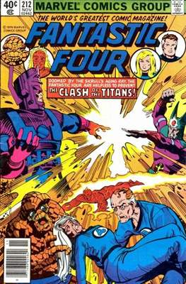 Fantastic Four Vol. 1 (1961-1996) (saddle-stitched) #212