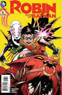 Robin Son of Batman (2015-2016) (Comic book) #6