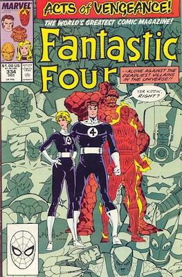 Fantastic Four Vol. 1 (1961-1996) (saddle-stitched) #334
