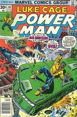 Hero for Hire / Power Man Vol 1 / Power Man and Iron Fist Vol 1 (Comic Book) #40