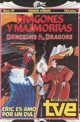 Dungeons and dragons. Dragones y mazmorras (Grapa 32 pp) #19