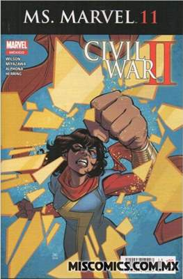 Ms. Marvel (2016-2017) #11