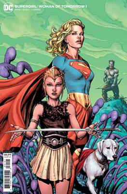 Supergirl: Woman of Tomorrow (Variant Cover)