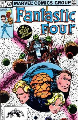 Fantastic Four Vol. 1 (1961-1996) (saddle-stitched) #253