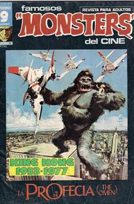 Famosos Monsters del Cine (Grapa , 66 páginas. 1975-1977) #21