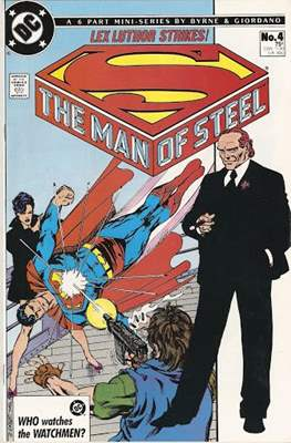 The Man of Steel (Comic-book) #4
