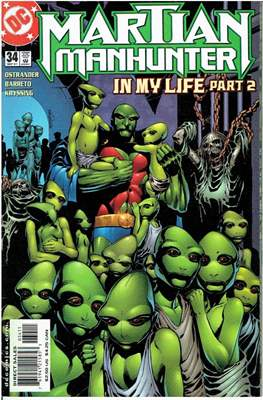 Martian Manhunter Vol. 2 (Grapa 24 pág.) #34