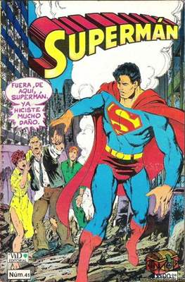 Superman Vol. 1 (Grapa. 1986-2001) #41