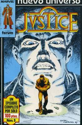 Justice (1988-1989) (Grapa. 17x26. 24 páginas. Color.) #9