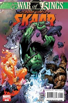 War of Kings: Savage World of Skaar Vol 1
