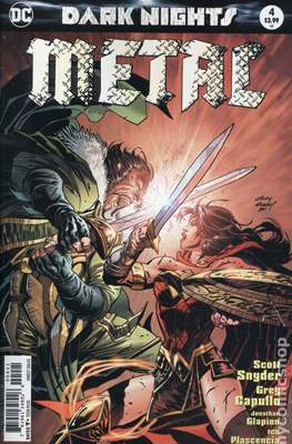 Dark Nights: Metal (Variant Covers) (Comic Book) #4.4