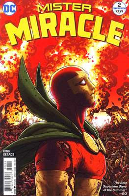 Mister Miracle (Vol. 4 2017- Variant Covers) (Comic Book) #2.2