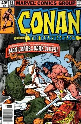 Conan The Barbarian (1970-1993) (Comic Book 32 pp) #99