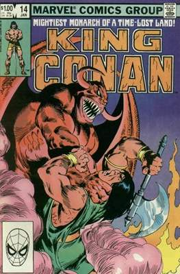 King Conan / Conan the King (Grapa, 48 págs.) #14