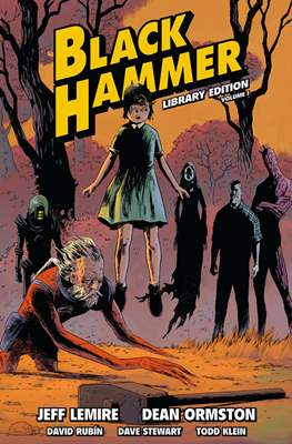 Black Hammer Library Edition (Hardcover 408 pp) #1