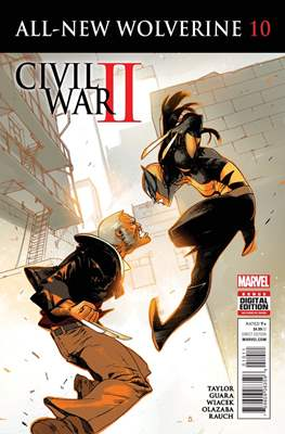 All-New Wolverine (2016-) (Comic book) #10
