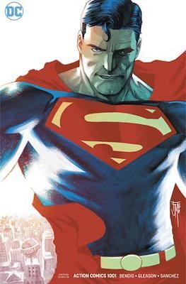 Action Comics Vol. 1 (1938-2011; 2016-... Variant Covers) (Comic Book) #1001.1