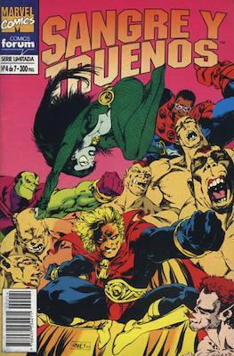 Sangre y Truenos (1994-1995) (Grapa. 17x26. 48/64 páginas. Color) #4