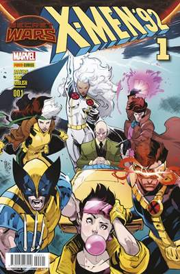 X-Men '92 (2015-2016) (Grapa 24 pp) #1