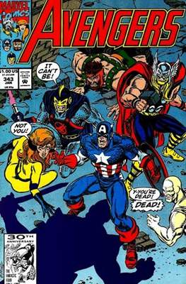 The Avengers Vol. 1 (1963-1996) (Grapa) #343