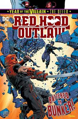 Red Hood and the Outlaws Vol. 2 (Comic Book) #36