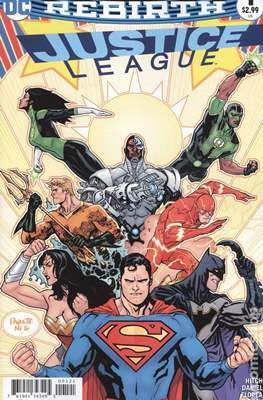 Justice League (2016-...Variant Covers)