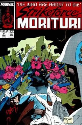 Strikeforce Morituri (Comic-book.) #21