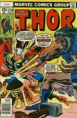 Journey into Mystery / Thor Vol 1 (Comic Book) #270