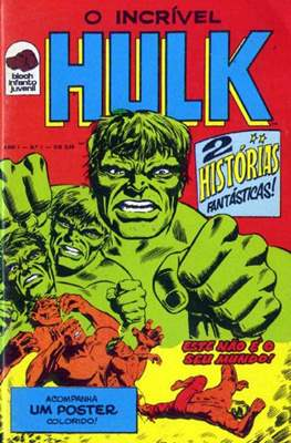 O incrível Hulk (Grampo) #1