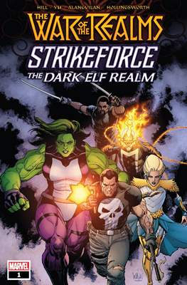The War of the Realms Strikeforce: The Dark Elf Realm
