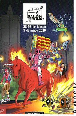 Salón del Cómic València. Plano Guía #1