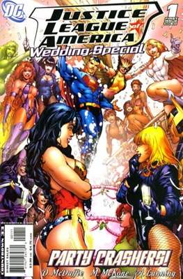 Justice League Wedding Special