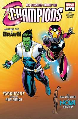 Champions Vol. 2 (Comic-Book) #22