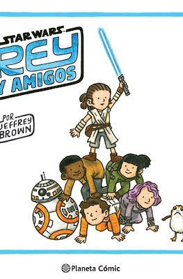 Star Wars Rey y amigos (Cartoné 72 pp)