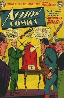 Action Comics Vol. 1 (1938-2011; 2016-) (Comic Book) #164
