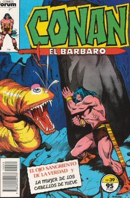 Conan el Bárbaro (1983-1994) (Grapa. 19x27. 36/32/24 páginas. Color.) #39