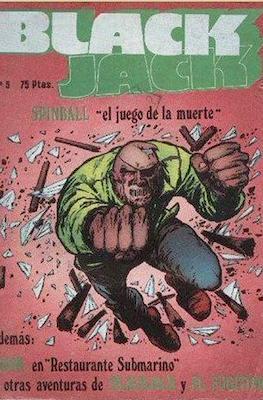 Black Jack / Spinball (Grapa 48 pp) #5
