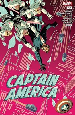 Captain America Vol. 8 (2017-2018) (Comic Book) #703