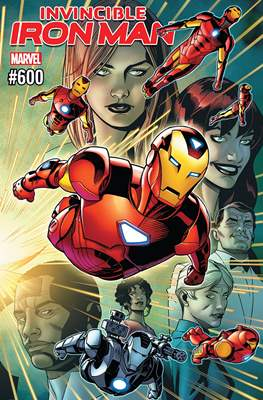 Invincible Iron Man Vol. 4 #600