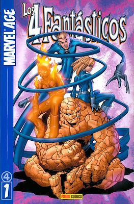 Los 4 Fantásticos. Marvel Age (Rústica 96 pp) #1