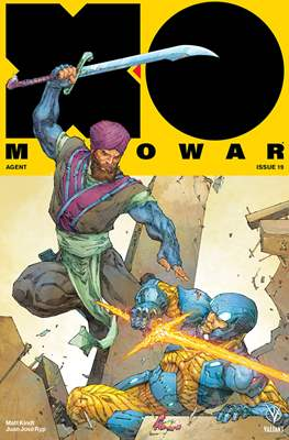 X-O Manowar Vol. 4 (2017) (Comic-book) #19
