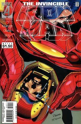 Iron Man Vol. 1 (1968-1996) (Comic book) #320