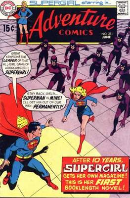 New Comics / New Adventure Comics / Adventure Comics (1935-1983; 2009-2011) (Saddle-Stitched) #381