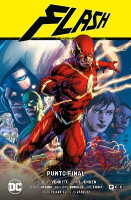 Flash Saga de Robert Venditti y Van Jensen #3